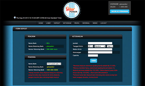 Website Poker Online Indonesia - Gitarpokercom
